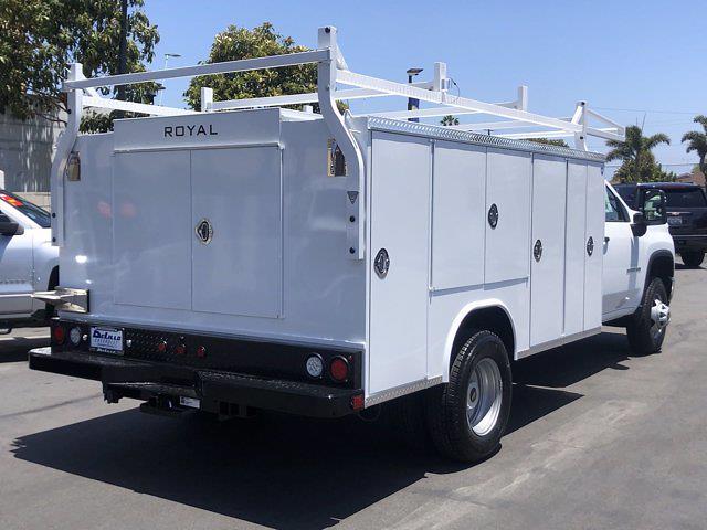 2021 Silverado 3500 Regular Cab 4x2,  Royal Truck Body Service Body #210183 - photo 2