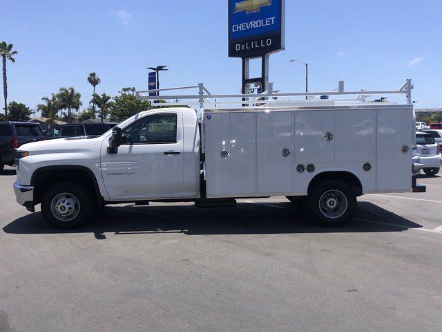 2021 Silverado 3500 Regular Cab 4x2,  Royal Truck Body Service Body #210183 - photo 7