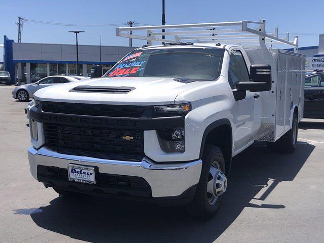 2021 Silverado 3500 Regular Cab 4x2,  Royal Truck Body Service Body #210183 - photo 8