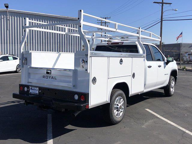 2021 Chevrolet Silverado 2500 Double Cab 4x2, Royal Service Body #210265 - photo 1