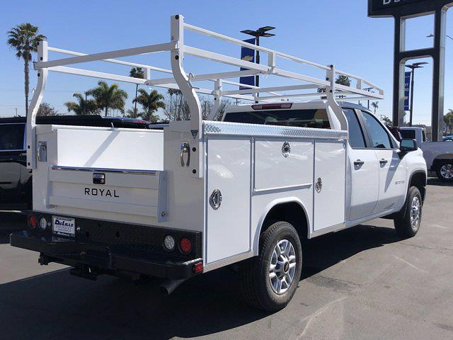 2021 Chevrolet Silverado 2500 Double Cab 4x2, Royal Service Body #210324 - photo 1