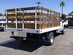 2021 Silverado 3500 Regular Cab 4x2,  Royal Truck Body Stake Bed #210539 - photo 2