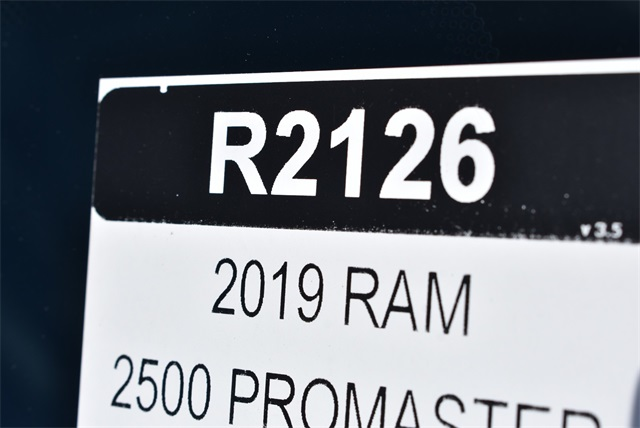 2019 ProMaster 2500 High Roof FWD,  Empty Cargo Van #R2126 - photo 23