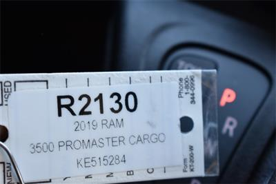 2019 ProMaster 3500 High Roof FWD,  Empty Cargo Van #R2130 - photo 27