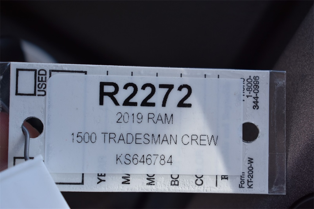2019 Ram 1500 Crew Cab 4x4, Pickup #R2272 - photo 26