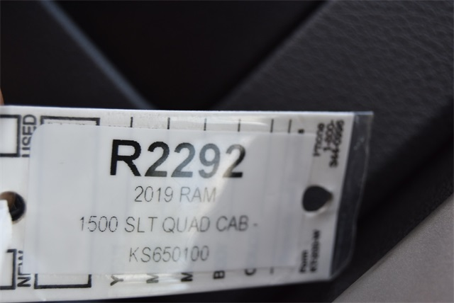 2019 Ram 1500 Quad Cab 4x4, Pickup #R2292 - photo 26