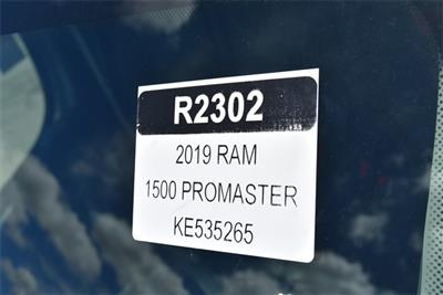 2019 ProMaster 1500 Standard Roof FWD,  Empty Cargo Van #R2302 - photo 22