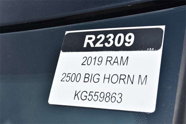 2019 Ram 2500 Mega Cab 4x4,  Pickup #R2309 - photo 31
