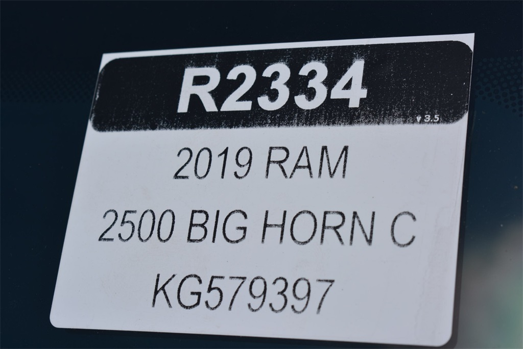 2019 Ram 2500 Crew Cab 4x4, Pickup #KG579397 - photo 31
