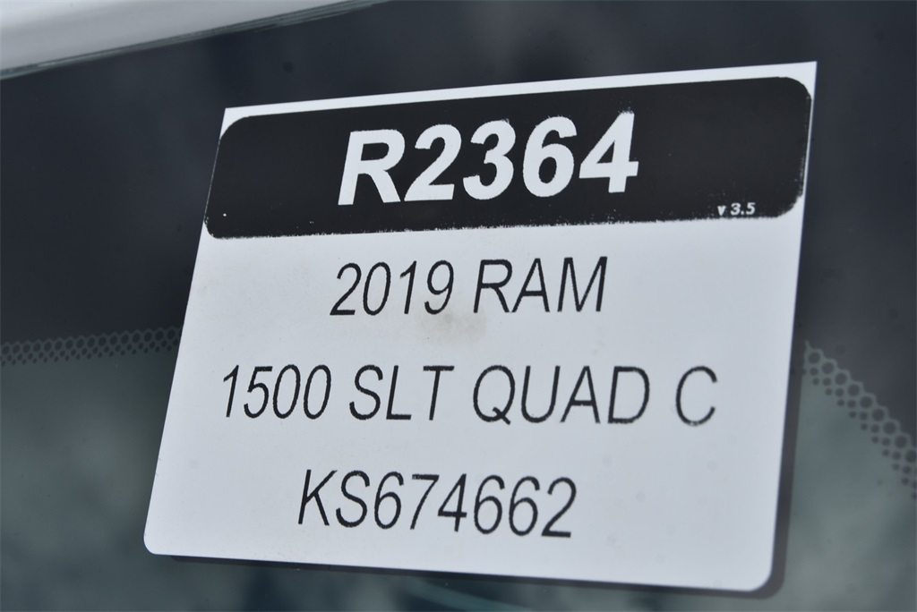 2019 Ram 1500 Quad Cab 4x4,  Pickup #R2364 - photo 27