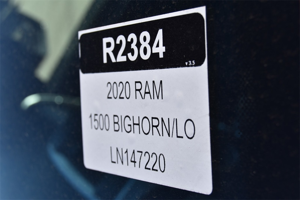 2020 Ram 1500 Crew Cab 4x4, Pickup #R2384 - photo 30