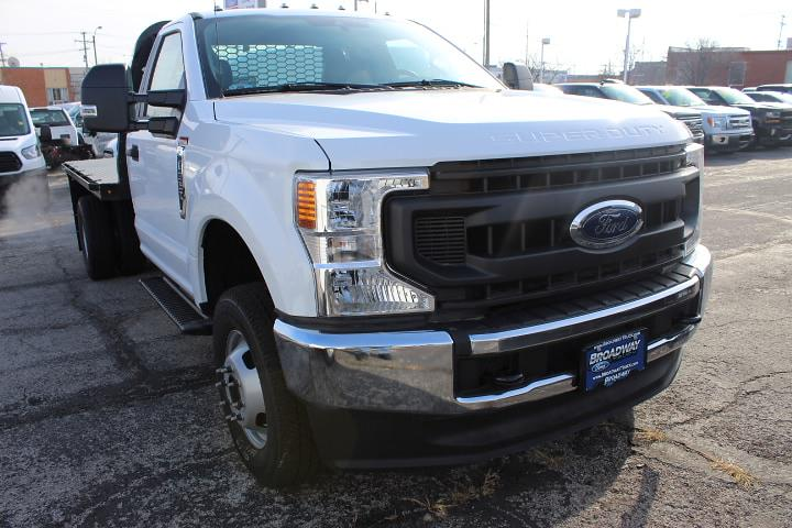2020 Ford F-350 Regular Cab DRW 4x4, Knapheide Platform Body #3748 - photo 1