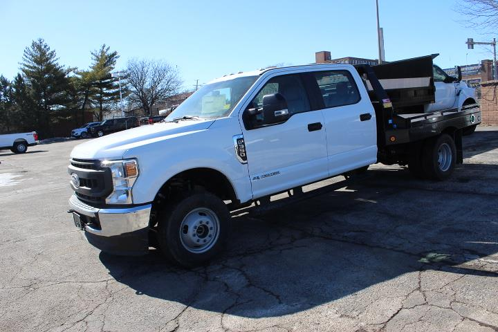 2020 Ford F-350 Crew Cab DRW 4x4, Hillsboro Platform Body #3757 - photo 1