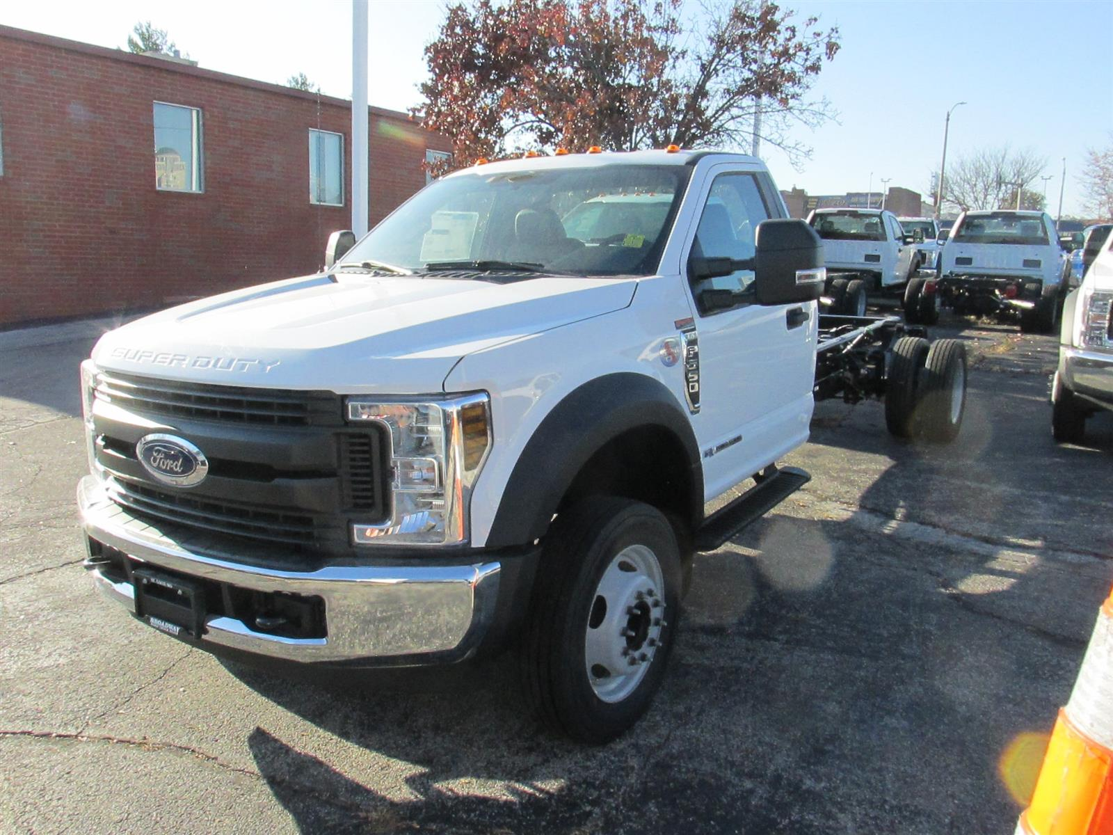 2019 Ford F-550 Regular Cab DRW 4x2, Cab Chassis #4048 - photo 1