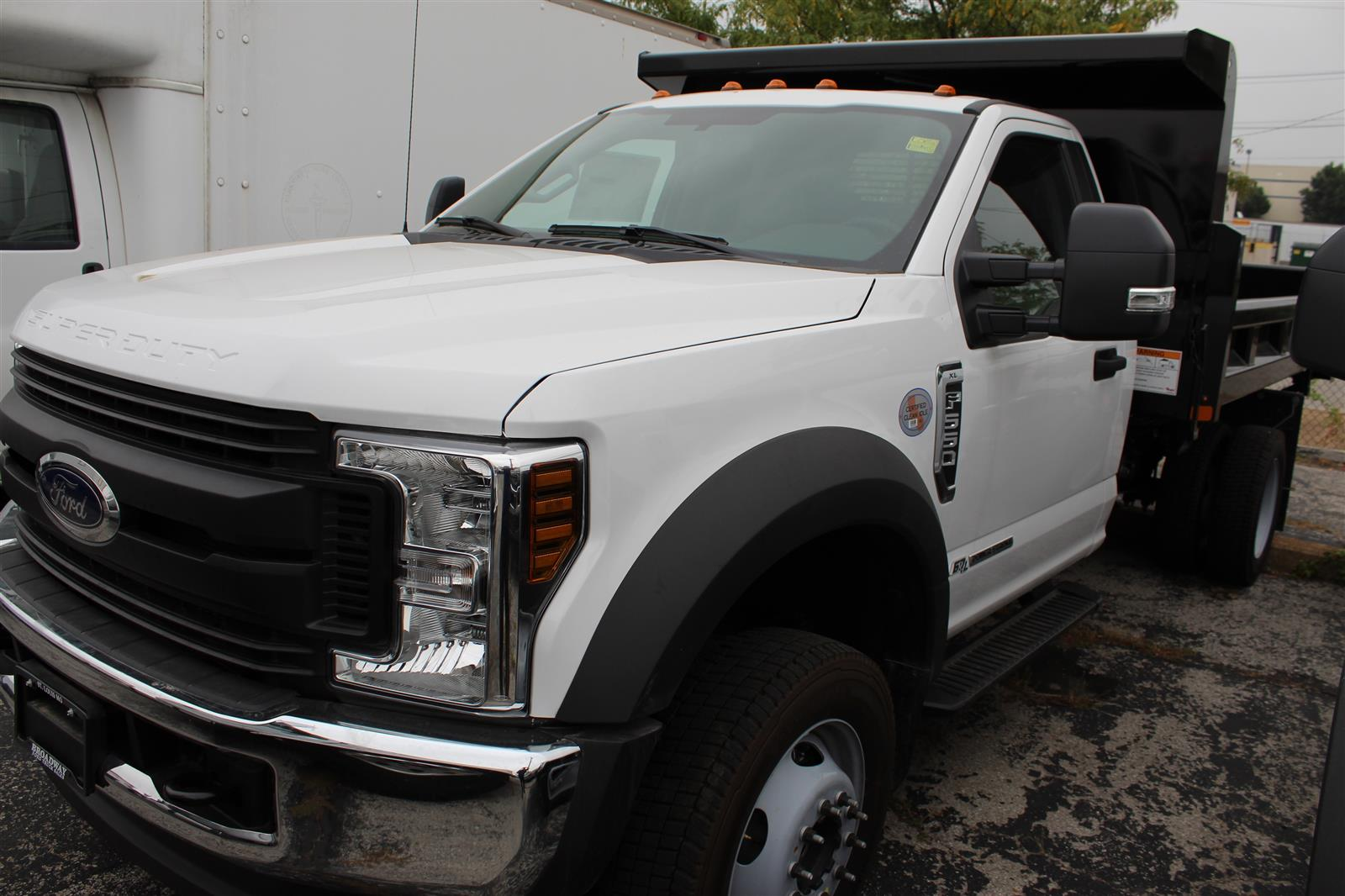2019 Ford F-550 Regular Cab DRW 4x4, Rugby Dump Body #4145 - photo 1