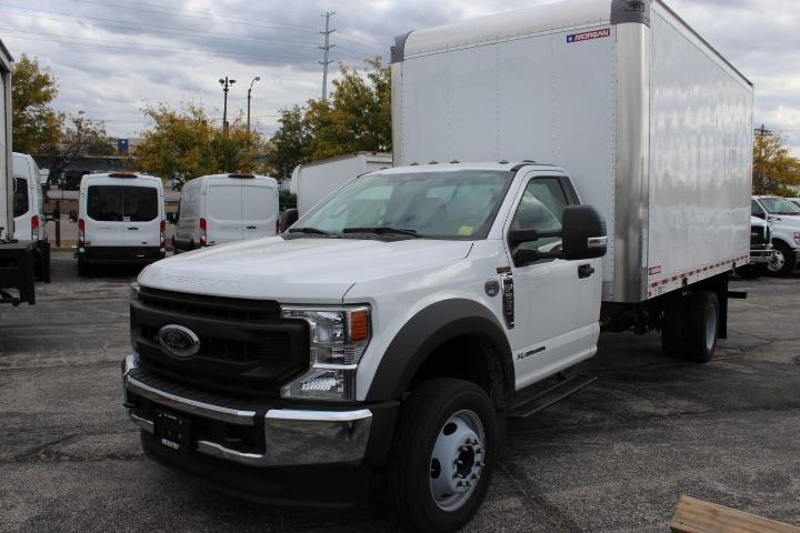 2020 Ford F-550 Regular Cab DRW 4x2, Morgan Dry Freight #4158 - photo 1