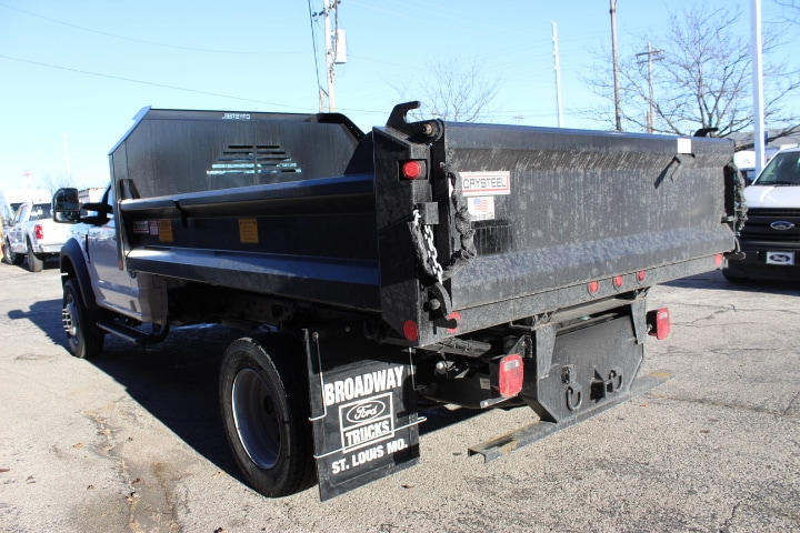 2020 Ford F-600 Regular Cab DRW 4x4, Crysteel Dump Body #4220 - photo 1
