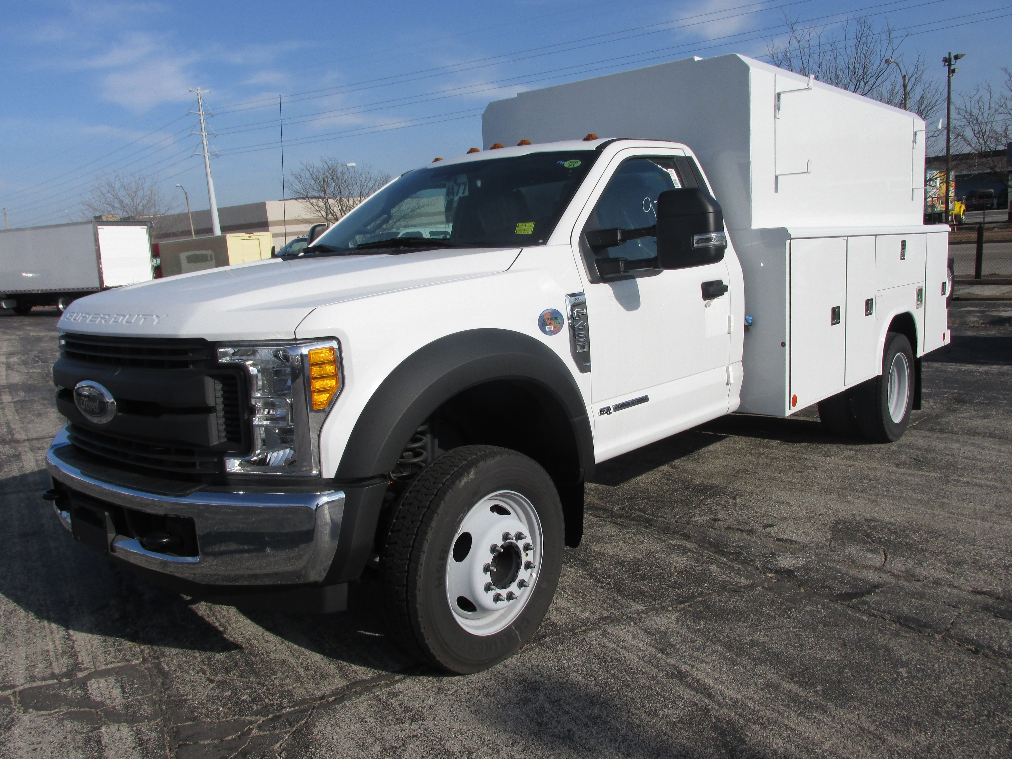 2017 F-450 Regular Cab DRW 4x2,  Reading Panel and Tapered Panel Body Service Utility Van #4745 - photo 1