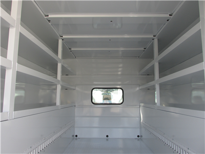 2017 F-450 Regular Cab DRW 4x2,  Reading Panel and Tapered Panel Body Service Utility Van #4745 - photo 17