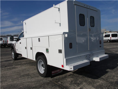 2017 F-450 Regular Cab DRW 4x2,  Reading Panel and Tapered Panel Body Service Utility Van #4745 - photo 2