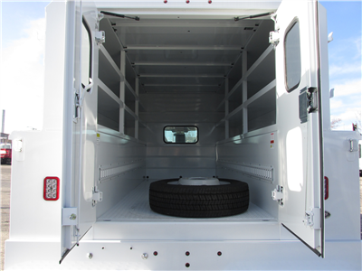 2017 F-450 Regular Cab DRW 4x2,  Reading Panel and Tapered Panel Body Service Utility Van #4745 - photo 15