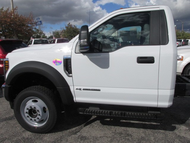 2019 F-550 Regular Cab DRW 4x4,  Cab Chassis #4867 - photo 12