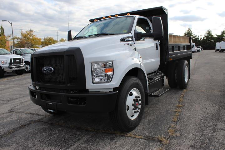 2019 Ford F-650 Regular Cab DRW 4x2, Riechers Truck Bodies & Equipment Co. Dump Body #5239 - photo 1