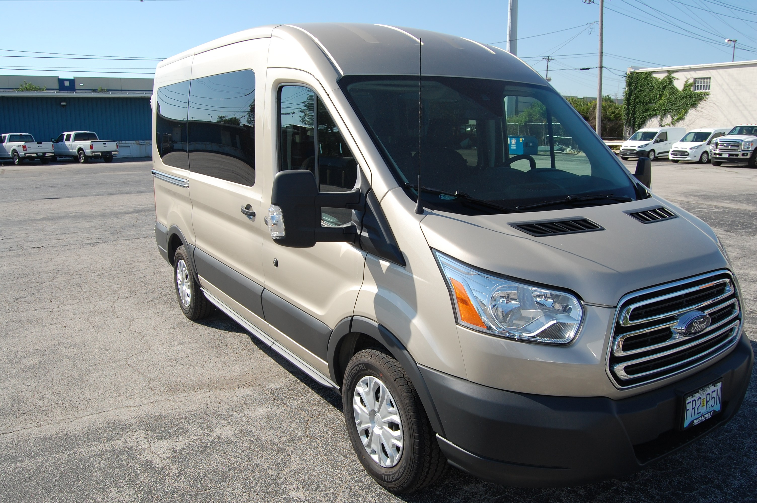 2018 Transit 150 Med Roof,  Passenger Wagon #B205 - photo 4