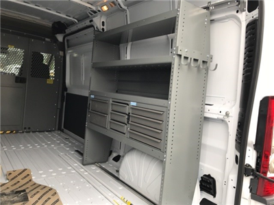 2018 ProMaster 2500 High Roof FWD,  Adrian Steel General Service Upfitted Cargo Van #W8047 - photo 12
