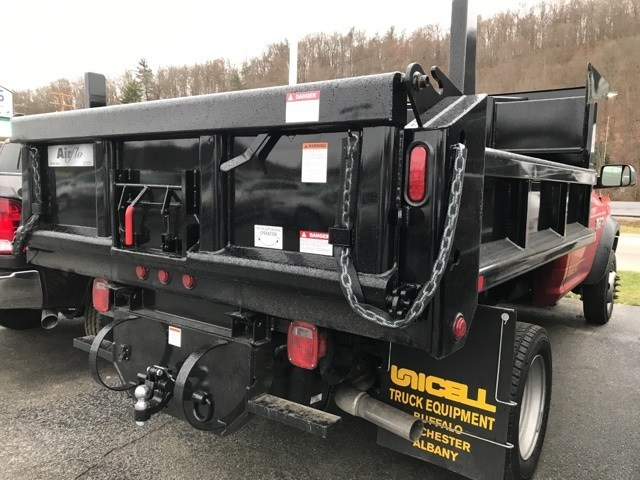2018 Ram 5500 Regular Cab DRW 4x4,  Air-Flo Dump Body #W8519 - photo 1