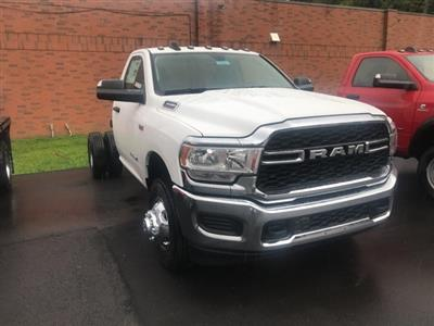 2019 Ram 3500 Regular Cab DRW 4x4,  Cab Chassis #W9421 - photo 1