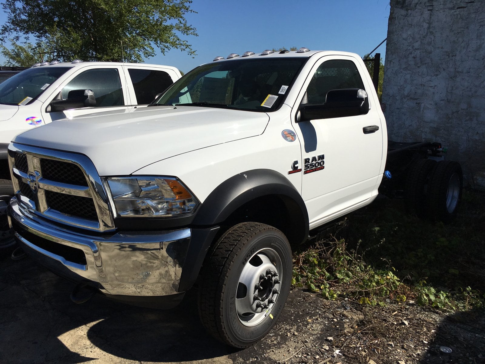 2018 Ram 5500 Regular Cab DRW 4x4, Cab Chassis #1844012 - photo 1