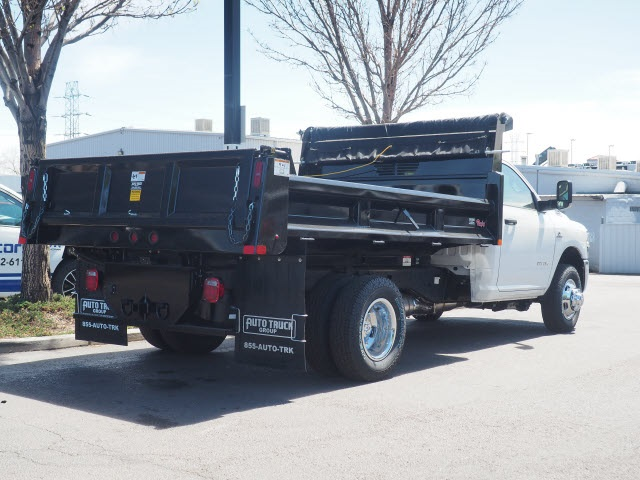 2020 Ram 3500 Regular Cab DRW 4x4, Rugby Dump Body #590902 - photo 2
