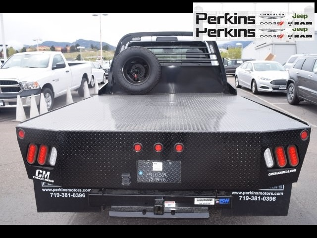 2017 Ram 3500 Regular Cab DRW 4x4,  CM Truck Beds Platform Body #597902 - photo 9