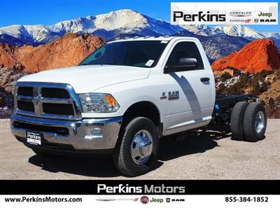 2018 Ram 3500 Regular Cab DRW 4x4,  Cab Chassis #598906 - photo 1