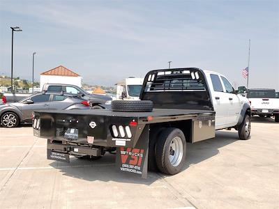 2021 Ram 5500 Crew Cab DRW 4x4,  CM Truck Beds RD Model Platform Body #691508 - photo 2