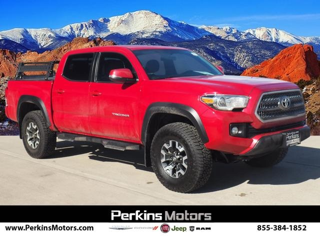 2017 Tacoma Double Cab 4x4, Pickup #770028A - photo 1