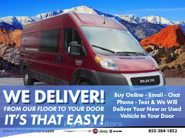 2020 ProMaster 2500 High Roof FWD, Empty Cargo Van #770038 - photo 1