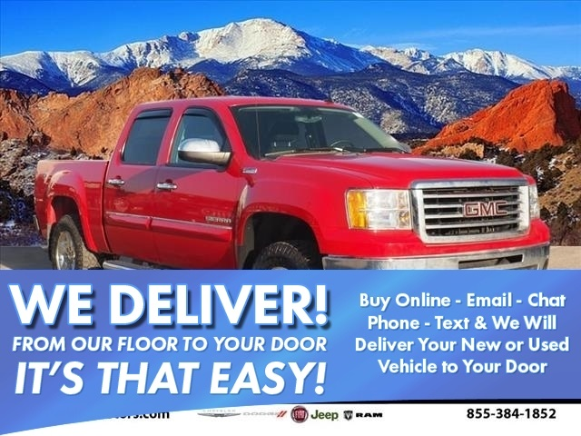 2013 Sierra 1500 Crew Cab 4x4, Pickup #950001A - photo 1