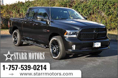 2018 Ram 1500 Crew Cab 4x4, Pickup #J084 - photo 1