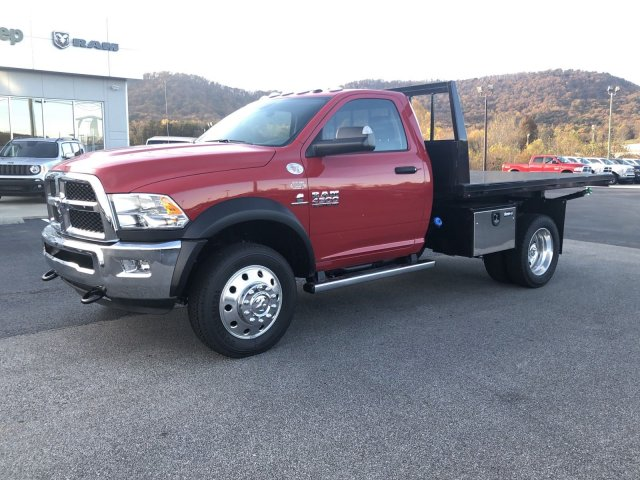 2018 Ram 4500 Regular Cab DRW 4x4,  Platform Body #R3821 - photo 4