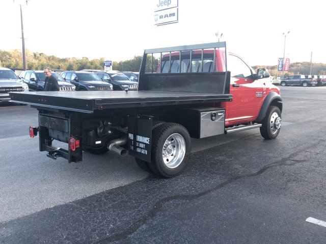 2018 Ram 4500 Regular Cab DRW 4x4,  Platform Body #R3821 - photo 7