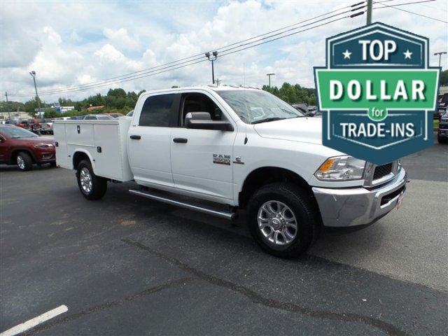 2017 Ram 3500 Crew Cab 4x4,  Service Body #R3841 - photo 3