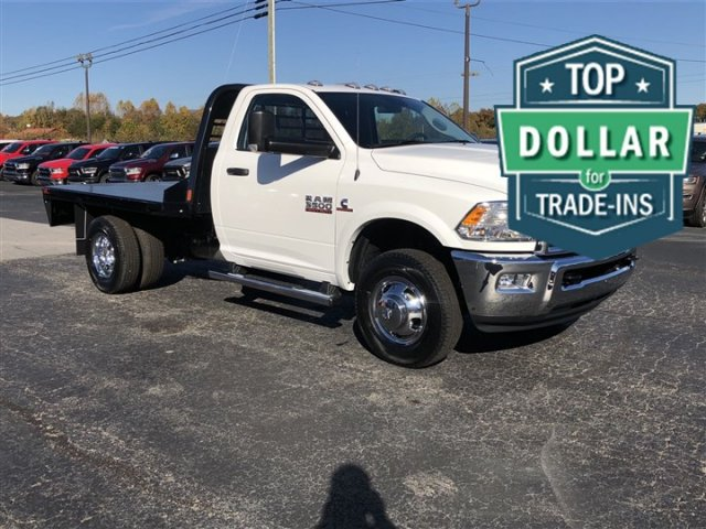 2018 Ram 3500 Regular Cab DRW 4x4,  Platform Body #R3961 - photo 3