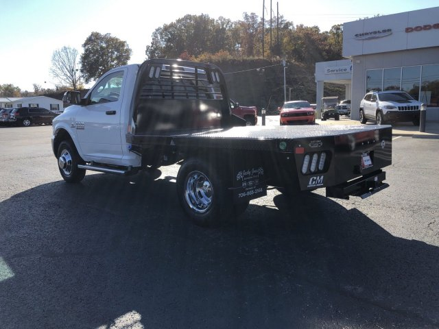 2018 Ram 3500 Regular Cab DRW 4x4,  Platform Body #R3961 - photo 2