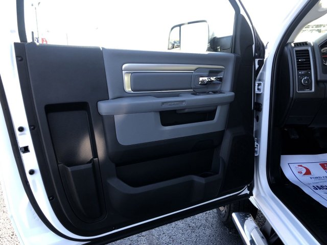 2018 Ram 3500 Regular Cab DRW 4x4,  Platform Body #R3961 - photo 8