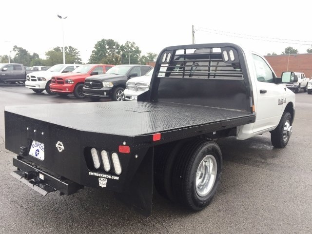 2018 Ram 3500 Regular Cab DRW 4x4,  CM Truck Beds RD Model Platform Body #16422 - photo 8