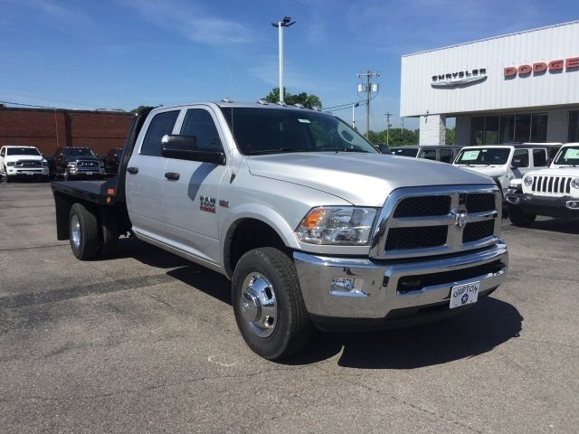 2018 Ram 3500 Crew Cab DRW 4x4,  CM Truck Beds RD Model Platform Body #16522 - photo 4
