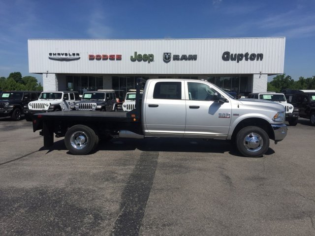 2018 Ram 3500 Crew Cab DRW 4x4,  CM Truck Beds RD Model Platform Body #16522 - photo 5