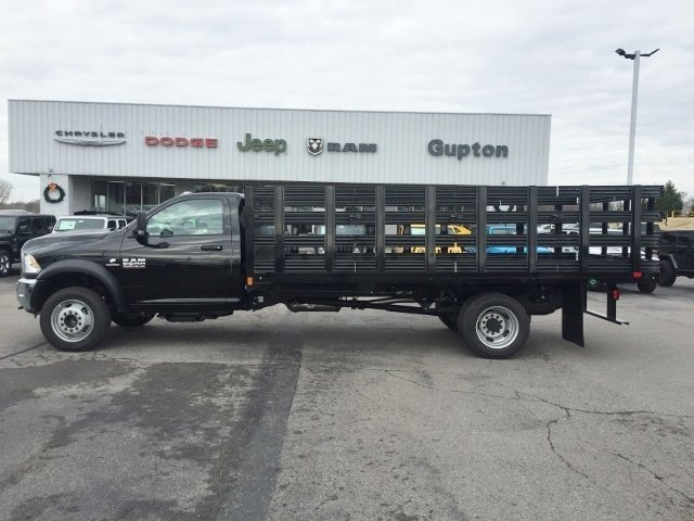 2018 Ram 5500 Regular Cab DRW 4x2,  CM Truck Beds Stake Bed #16928 - photo 3